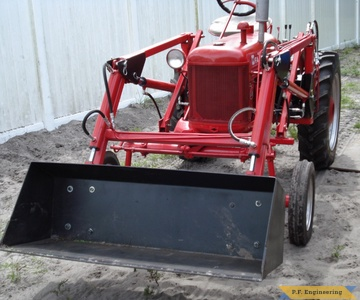 1948 farmall cub loader bucket