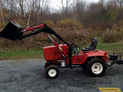 Gravely loader left side by Grant R., Milton, VT