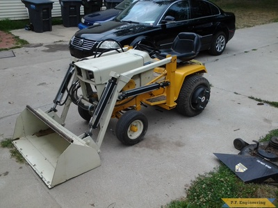 Cub Cadet 149 loader by Kevin K.