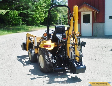 Cub Cadet 7264 Micro Hoe by Kevin P., Pittsfield, NH