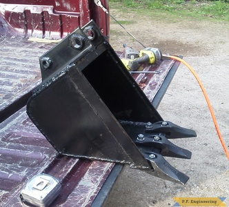 cub cadet 7264 compact tractor micro hoe bucket by Kevin P., Pittsfield, NH