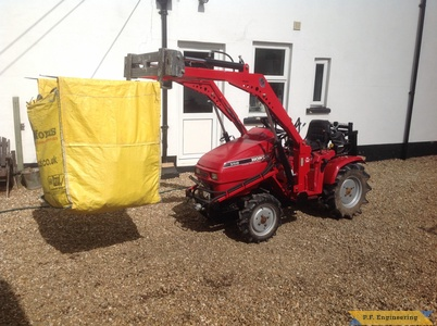 Honda 5518 loader with forks by Simon B.