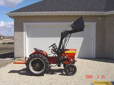 Economy Power King compact tractor loader_3