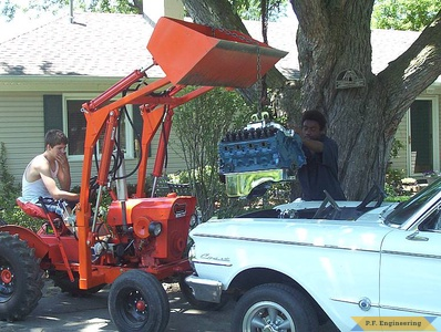 Economy Power King compact tractor loader_4