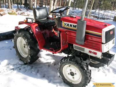Yanmar FX-13D compact tractor loader_1